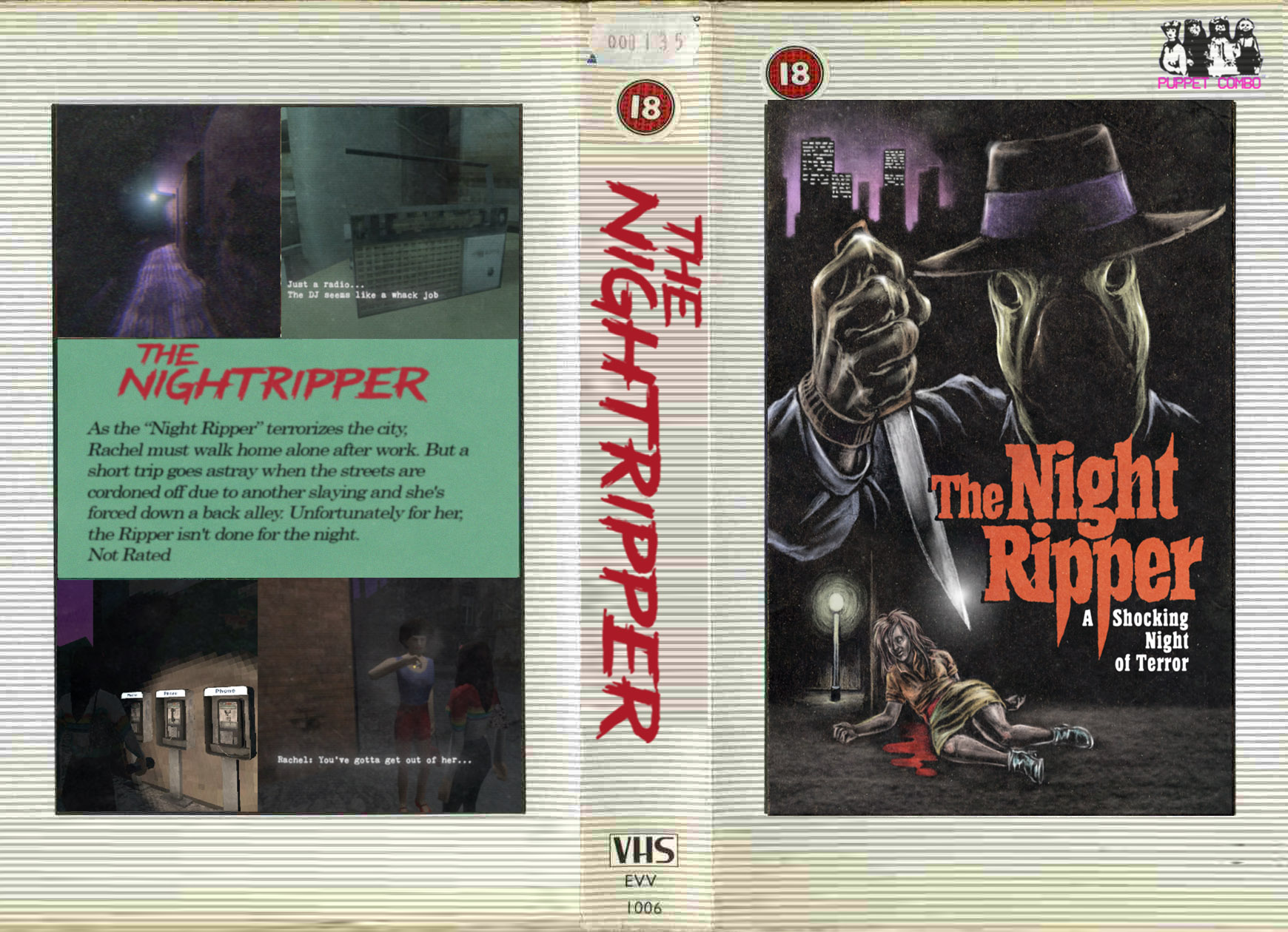 Night Ripper VHS